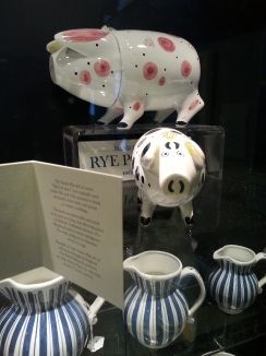 Sussex Pottery Pigs (just like Mapp's)
