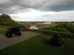 Canons in front of Ypres Tower